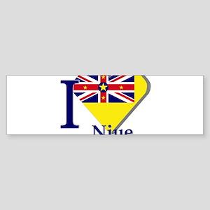 I love Nieu Bumper Sticker