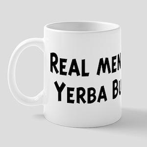 Men eat Yerba Buena Mug