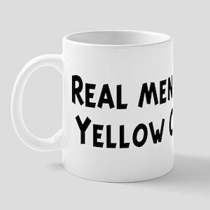 Men eat Yellow Corn Mug