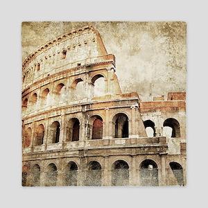 Vintage Roman Coloseum Queen Duvet