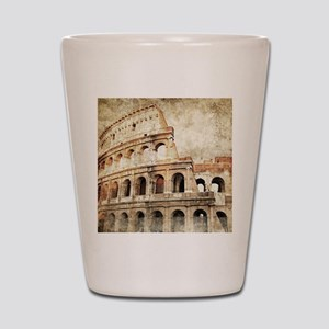 Vintage Roman Coloseum Shot Glass