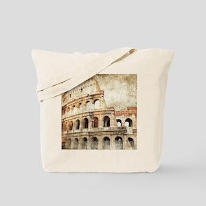 Vintage Roman Coloseum Tote Bag