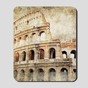 Vintage Roman Coloseum Mousepad