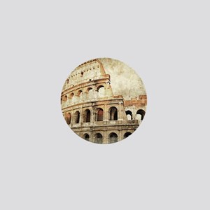 Vintage Roman Coloseum Mini Button