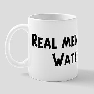 Men eat Water Mug