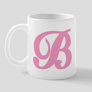 B Initial Mug