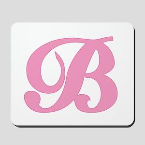 B Initial Mousepad