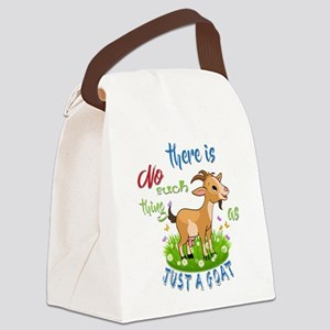 No Such Thing as Just a Goat GetY Canvas Lunch Bag