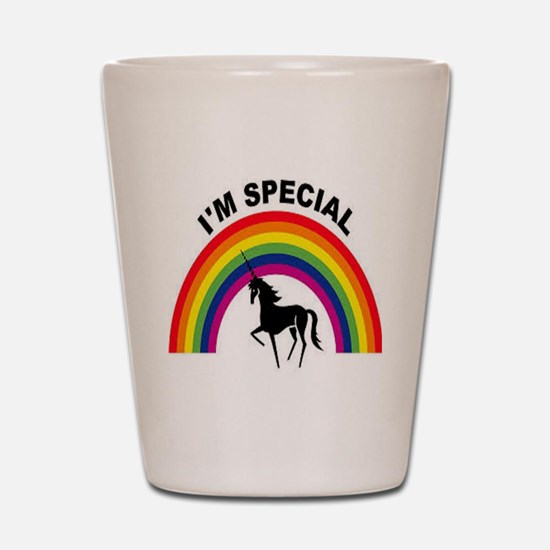 I'm special Shot Glass