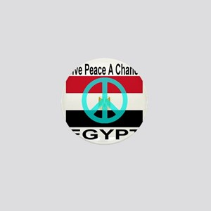 Egypt Give Peace A Chance Mini Button