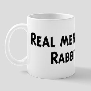 Men eat Rabbit Mug