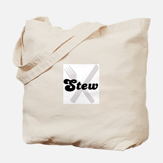 Stew (fork and knife) Tote Bag