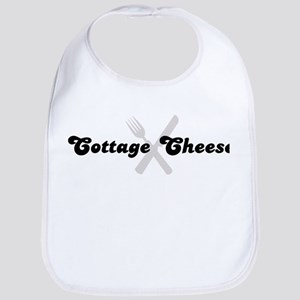 Cottage Cheese (fork and knif Bib