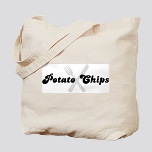 Potato Chips (fork and knife) Tote Bag