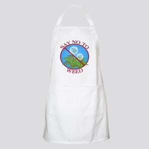 Say No To Weed Dandelion BBQ Apron