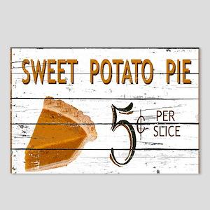 Sweet Potato Pie Postcards (Package of 8)