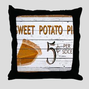 Sweet Potato Pie Throw Pillow