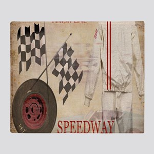 Speedway Throw Blanket