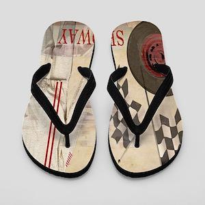 Speedway Flip Flops