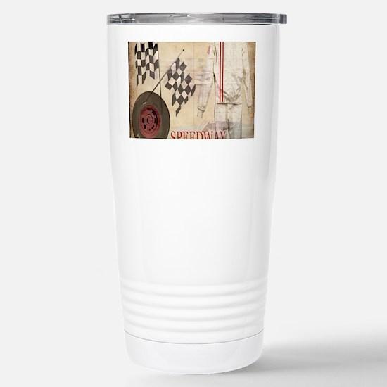 Speedway Stainless Steel Travel Mug