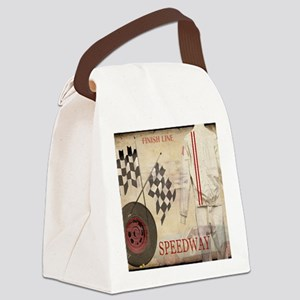 Speedway Canvas Lunch Bag