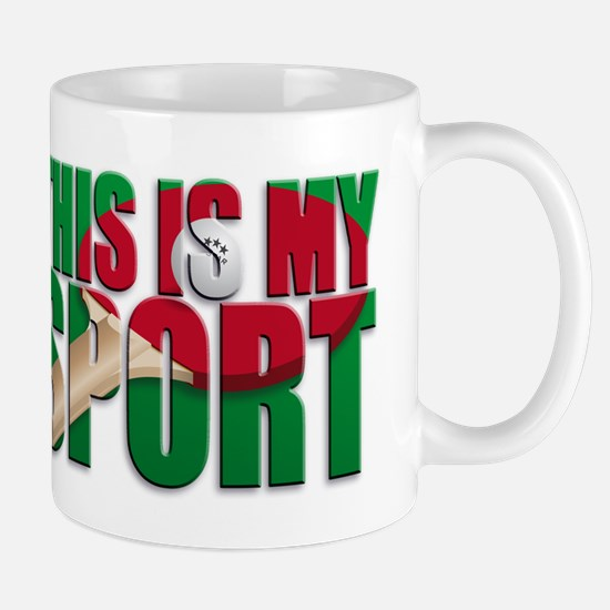 table tennis this is my sport Mugs