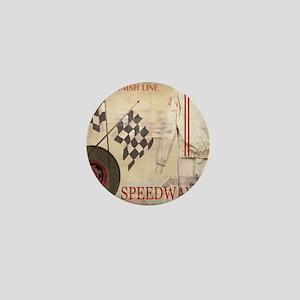 Speedway Mini Button