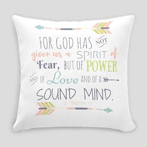2 Timothy 1:7 Bible Verse Everyday Pillow