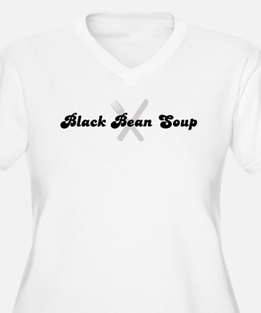 Black Bean Soup (fork and kni T-Shirt