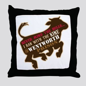 Kine Throw Pillow