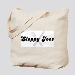 Sloppy Joes (fork and knife) Tote Bag