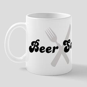 Beer Soup (fork and knife) Mug
