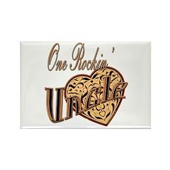 Rockstar Uncle Rectangle Magnet (100 pack)