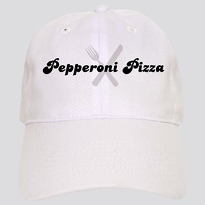 Pepperoni Pizza (fork and kni Cap