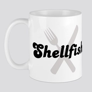 Shellfish (fork and knife) Mug