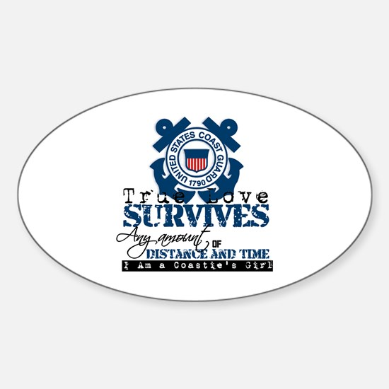 True Love Oval Decal