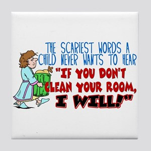 A Clean Room Tile Coaster