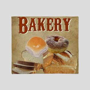 Bakery Throw Blanket