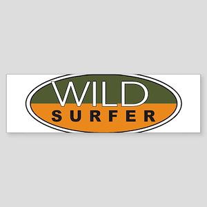 wild surfer Bumper Sticker