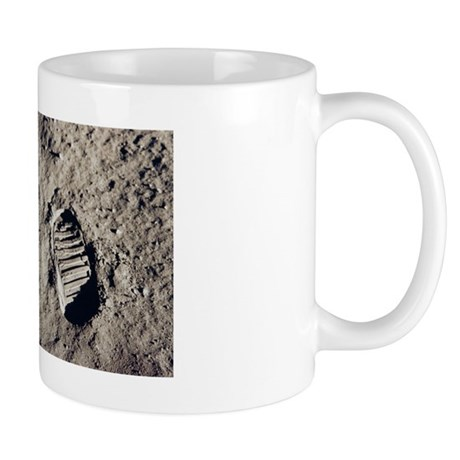 Apollo 11 Bootprint Mug