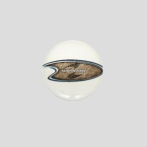 brown surfinzone Mini Button