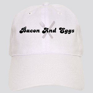 Bacon And Eggs (fork and knif Cap