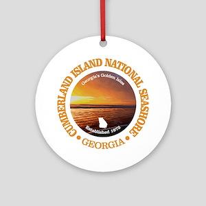 Cumberland Island NS Round Ornament