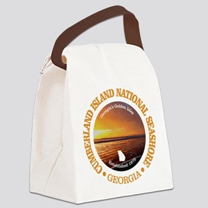 Cumberland Island NS Canvas Lunch Bag