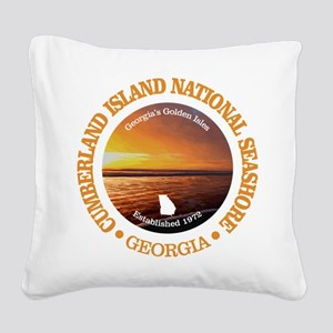 Cumberland Island NS Square Canvas Pillow