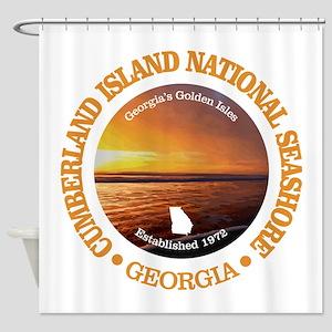 Cumberland Island NS Shower Curtain