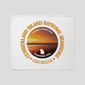 Cumberland Island NS Throw Blanket