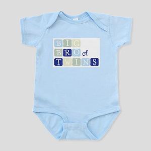 BIG BRO of TWINS Infant Bodysuit