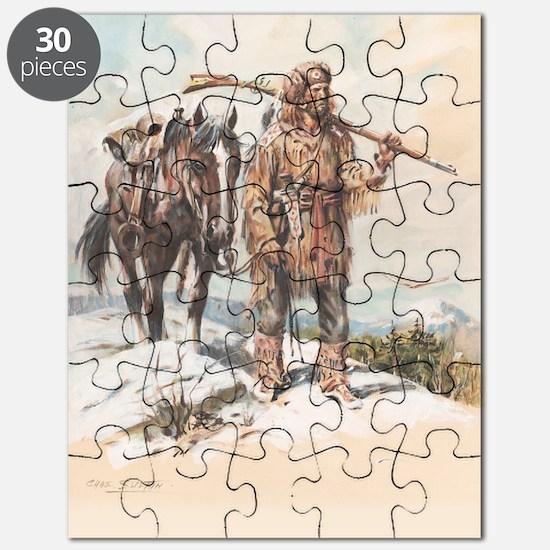 William Sublette 12x18 print Puzzle
