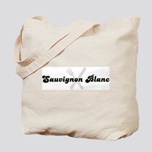 Sauvignon Blanc (fork and kni Tote Bag